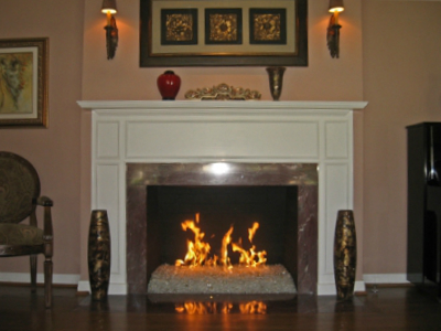 starfire glass fireplace