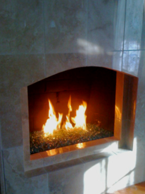 fireplace fireglass pictures