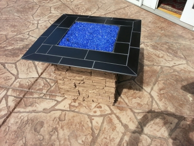Custom RV Fire Pit Conversion