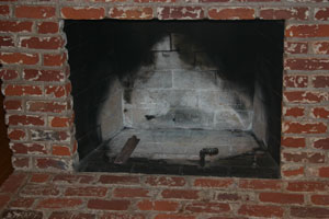 dirty fireplace