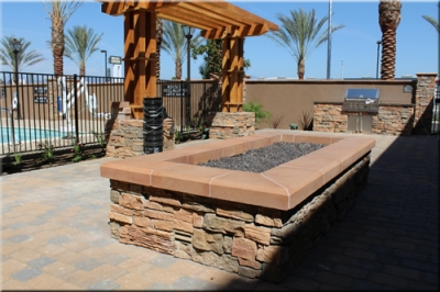 Marriott Fire Pit