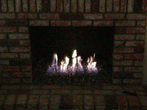 ideas for fireplace conversions using fireglass