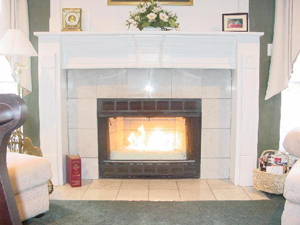 clean your fireplace