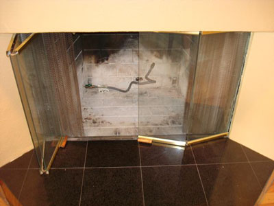 Pictures of modern fireplaces. Custom Glass fireplaces before and ...