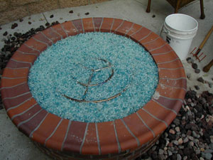 glass fire rocks for fire pits