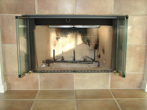 fireplace conversion pictures