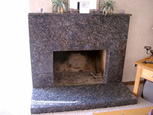 Marble fireplace conversion ideas