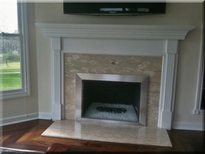 ash sarna fireplace surround